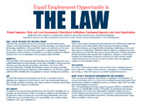 EEO Law (PDF, 77KB, opens in a new window)